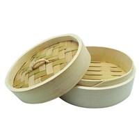 Wah Fat Oval Bambu Buhar Sepeti 21X4.6Cm (Sadece Alt)