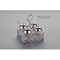 Carat Dekoratif Gümüş Sosluk Çerezlik