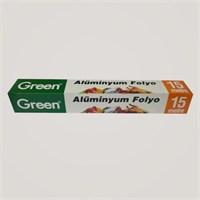 Green Alüminyum Folyo 15 Metre