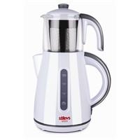 Stilevs Çays Cm-16 Çay Makinesi Beyaz&Gri