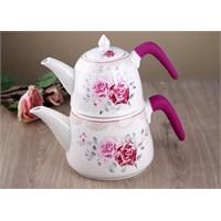 Gönül Porselen Porselen Silikon Tutacaklı Çaydanlık G1099