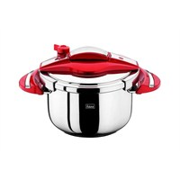 Falez Twist Ve Cook Düdüklü Tencere 5 Lt-Kırmızı