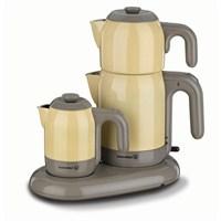 Korkmaz A353-05 Mia Çay Kahve Makinesi Sarı