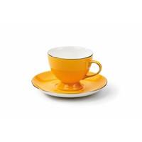 Korkmaz 8655 Classic Sarı 6'Lı Kahve Fincan Takımı