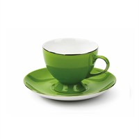 Korkmaz A 8657 Classic Yeşil 6'Lı Kahve Fincan Takımı