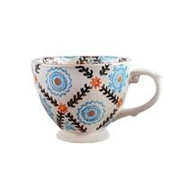 Thanx Co Trellis El Boyama Kahve Fincanı