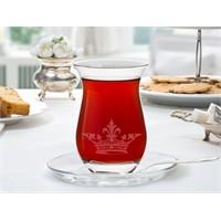 Madame Coco Royal 6'Lı Çay Bardak Takımı 168Ml