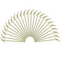 Dolco Gold Bambu Düğümlü Kürdan 12 Cm, 100 Ad/Paket
