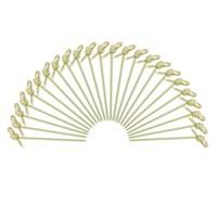 Dolco Gold Bambu Düğümlü Kürdan 9 Cm, 100 Ad/Paket