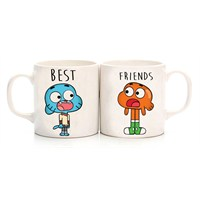 Köstebek Gumball & Dar İn Best Friends Kupa Cms059