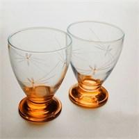 Başak 41011 Çın Çın 12 Adet (Turuncu Ateş Böçeği) Su-Meşrubat Bardaği