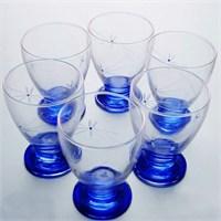 Başak 41011 Çın Çın 12 Adet (Mavi Ateş Böçeği) Su-Meşrubat Bardaği