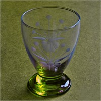 Başak 41011 Çın Çın 12 Adet (Yeşil Frezya) Su-Meşrubat Bardaği