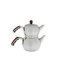 Aryıldız İris Kırmızı Mini Çaydanlık Takım