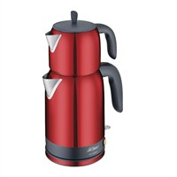 Arzum AR346-R Çay Sefası 2000 W Çay Makinesi