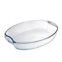 Pyrex 447B000 Oval Fırın Kabı 39X27 Cm Glass-Kulplu