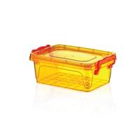 Hobby Life Plastik 600 Ml Dikdörtgen Bonbon Renkli Saklama Kabı 6 Lı