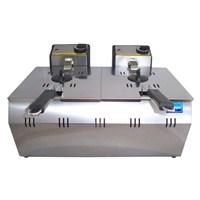 Simton 10 Lt(5+5) Elektrik Kapaklı Emniyet Sistemli Lüks Fritöz
