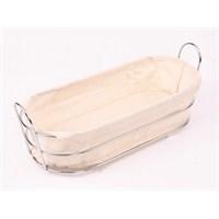 Ece Metal Ekmek Sepeti Kumaşlı