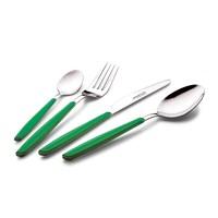 Schafer 24 Parça 13000 Çatal-Bıçak-Kaşık Takımı-Yeşil