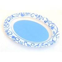 Lumınarc Plentitude - Blue Oval Servis Tabağı 35Cm