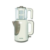 Vestel V-Brunch Serisi 2000 Beyaz Çay Makinesi
