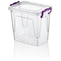 Hobby Life Plastik 1,45 Lt Diktörtgen Multi Box Saklama Kabı 6 Lı