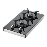 Eminçelik 40423 Setüstü Cam Domino Ocak-LPG