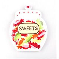 Kancaev Dekoratfi Mini Tabak Sweets