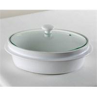Kancaev Porselen Oval Fırın Kabı