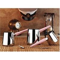 Aryıldız Flamingo Pudra Cezve Takım