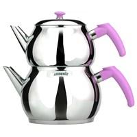 Akdeniz Küre Mini Çaydanlık (Süzgeçli) Akd-002