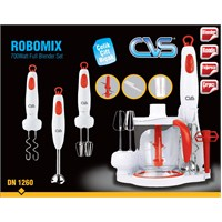 CVS DN 1260 Robomix 700Watt Full Blender Setİ - Kırmızı