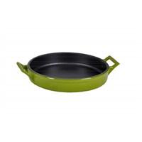Hecha Skillet Plate 16Cm Siyah Yeşil Tava