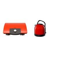 Vestel Yılbaşı Paket 9 (V-Brunch Serisi 1000 Kırmızı Tost Makinesi- V-brunch serisi Kırmızı Retro Su Isıtıcı)