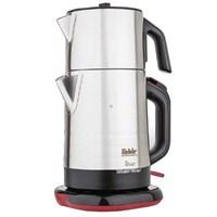 Fakir River 2in1 Paslanmaz Çelik Otomatik Çay Makinesi - Shiny