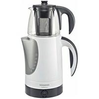 Siemens TA60100 Beyaz/Koyu Gri Çay makinesi