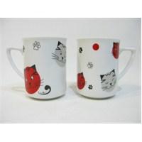 Cats By Luyano 2 Li Kupa Set
