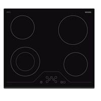 Vestel AOB - 6006 Black Line 4 Gözü Elektrikli Vitroseramik Ankastre Ocak