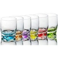 Lav Meşrubat Bardağı Renkli 6''Lı Adr15pt-E
