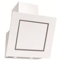 Simfer 8653 60 Cm Beyaz Yatık Cam Davlumbaz