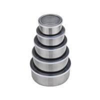 Buffer Çelik Saklama Kabı Seti 5 Adet