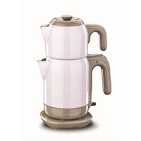 Korkmaz A 369-03 Demtez Elektrikli Çaydanlık Lila