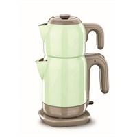 Korkmaz A 369-04 Demtez Elektrikli Çaydanlık Turkuaz