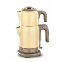 Korkmaz A 369-05 Demtez Elektrikli Çaydanlık Sarı