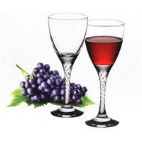 Paşabahçe Twist Kırmızı Şarap Bardak 6'Lı