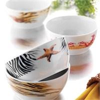 Kütahya Porselen 4 Parça 4163 Desen Çerez Seti