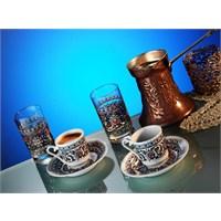 Kütahya Porselen Gozde 6 Parça Kahve Takmı