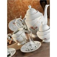 Kütahya Porselen Gözde 6 Kişilik 29 Parça 10131 Desen Çay Takımı