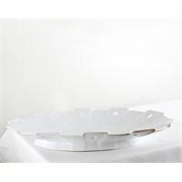 Kancaev Porselen Çıkıntılı Ovalservis Tabağı Büyük